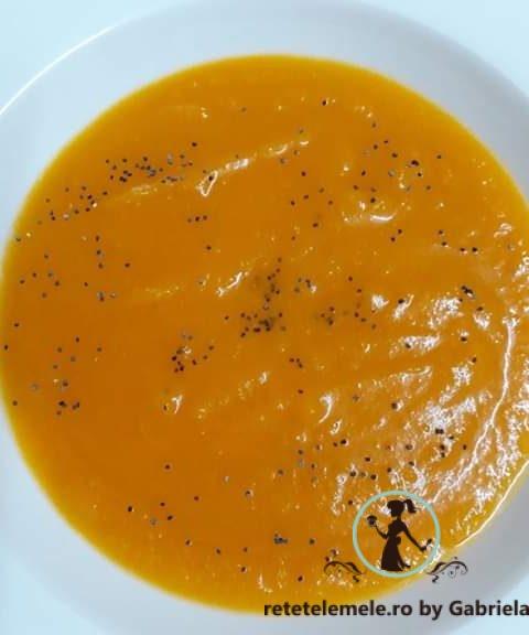 Supă cremă de dovleac 4