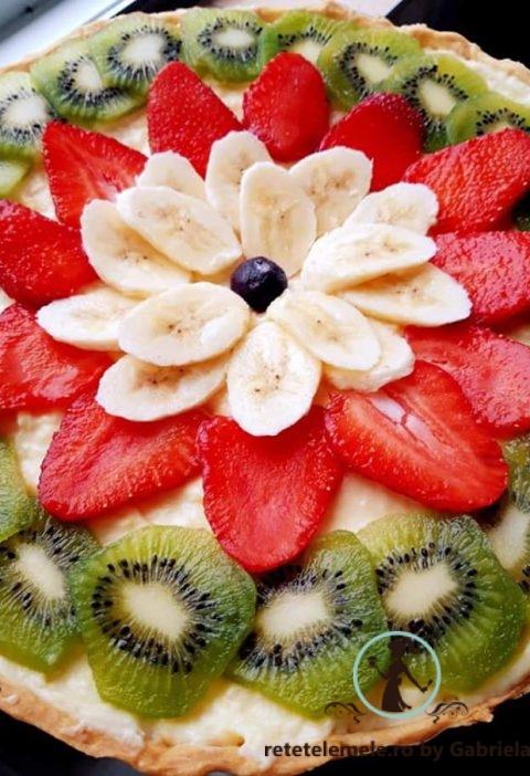 Tartă cu fructe proaspete și mascarpone  😊 4