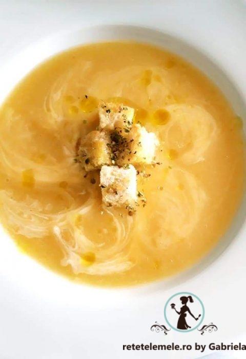 Supa cremă de dovlecei 4