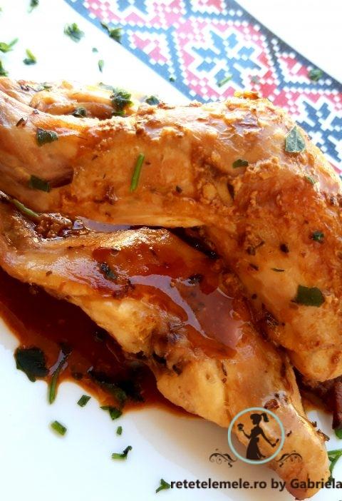 Iepure marinat cu lămâie 2