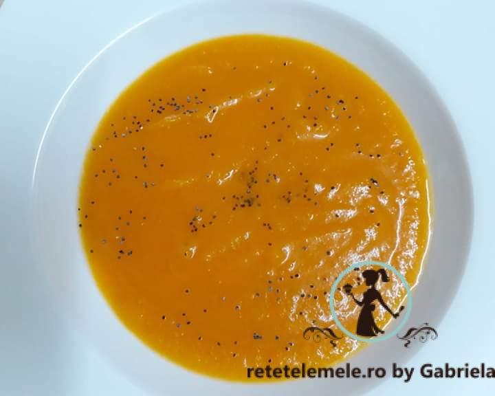 Supă cremă de dovleac 1