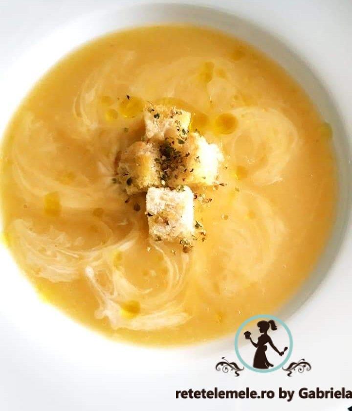 Supa cremă de dovlecei 1