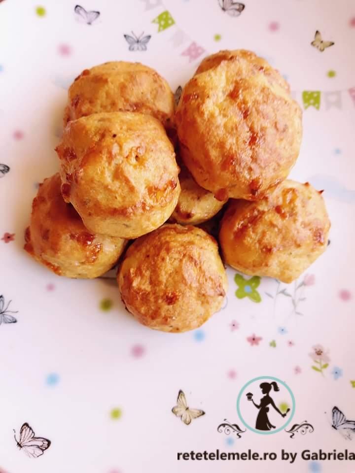 Chifteluțe de pui cu mozzarella