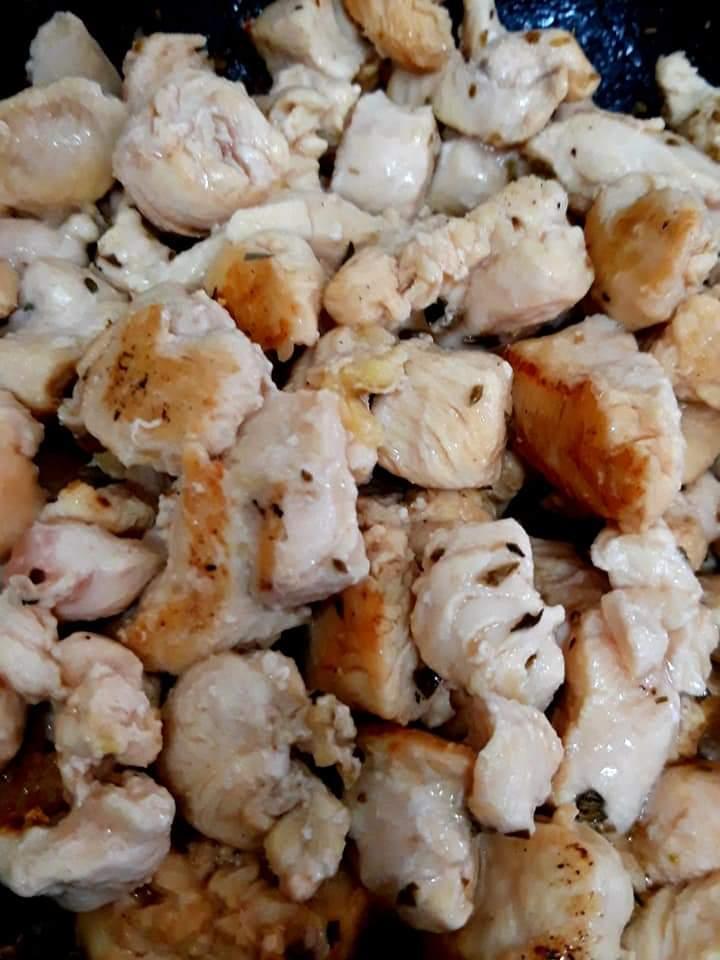 Cartofi cu pui - gratinați 2