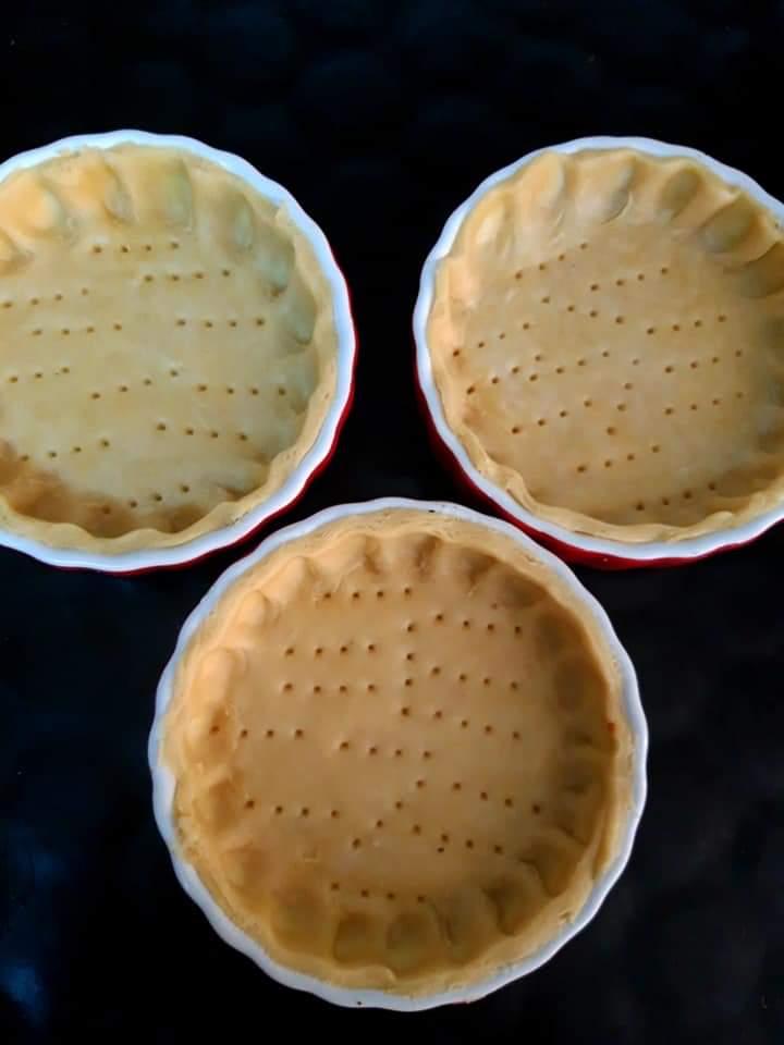 Cristele pentru minitarte de mere cu nucă